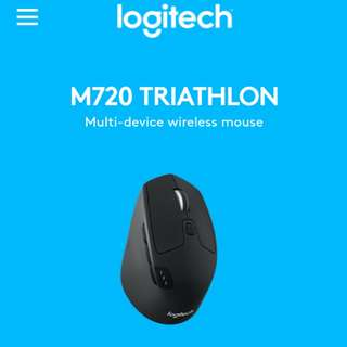 NEW Logitech M720 Triathlon