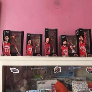 Authentic PBA Ginebra Collectibles