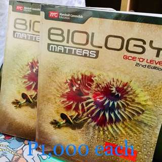 Biology Matters Second edtiion