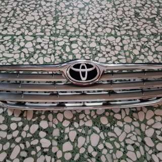 Toyota Corolla front grille
