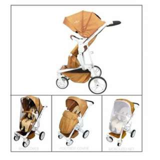 3 in 1 stroller