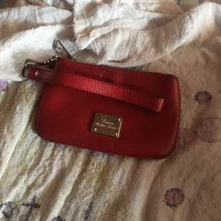 Authentic Ralph Lauren red purse