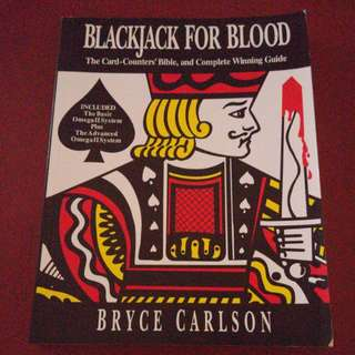 BLACKJACK FOR BLOOD card counters bible and complete winning guide