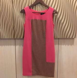 🚚 iROO羊毛拼接洋裝