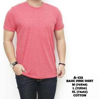 Basic pink shirt