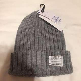 全新* gu 灰色冷帽