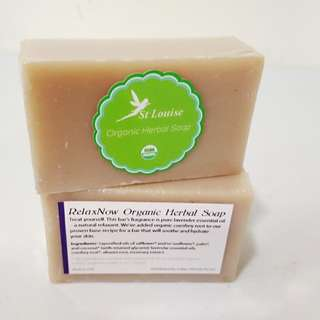 RelaxNow ~ Organic Herbal Soap