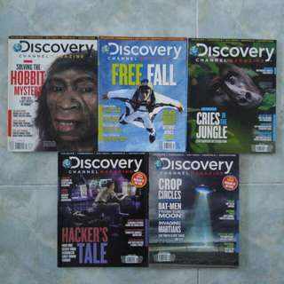 Good condition Discovery Channel Magazine