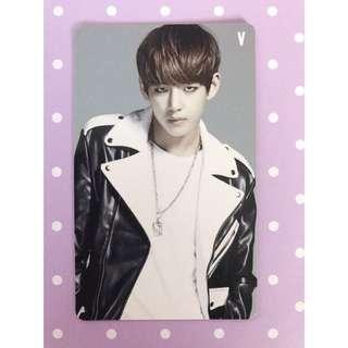 BTS 'Danger' V Photocard