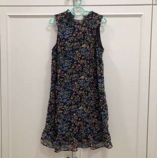 MNG floral dress suitable for small bump