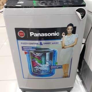 Mesin Cuci Panasonic 1 Tabung Ful Auto 10.5 KG Cicilan Tanpa Kartu Credit