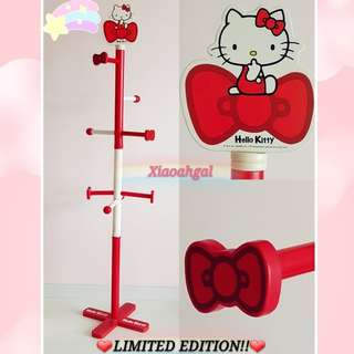 **RESERVE**🔴50% OFF➡️ FOR MY FOLLOWERS ONLY!!🔴(Do not want to throw away wastefully)🌟NEW🌟🐰AUTHENTIC SANRIO ORIGINAL STANDING CLOTHES HANGER (8 POLES) 💋Refer description💋 No Pet No Smoker Clean House