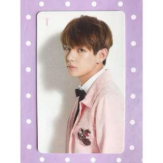 BTS 'I Need U' V Photocard