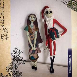 The Nightmare Before Christmas action figures set