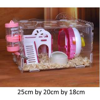 (in stock) hamster cage house pet