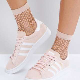 Adidas campus light pink sneakers