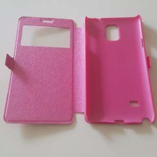Samsung Note 4 Diary Flip Casing Pink (Galaxy Android)