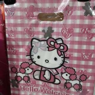 Plastic bags or lootbags