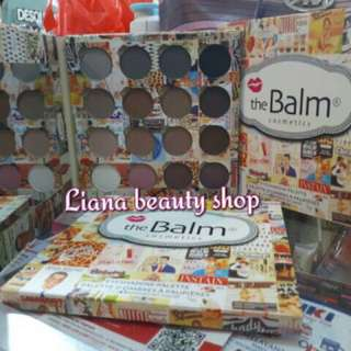 The Balm eyeshadow 16 colors