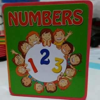 Mini Number book (New) Hard cover