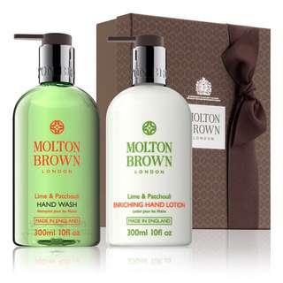 Molten Brown Handwash & Lotion Set