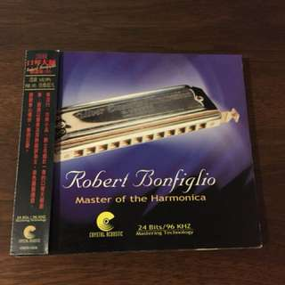 Audiophile Robert bonfiglio master of the harmonica cd made in USA