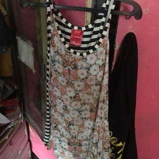 Authentic bayo floral blouse