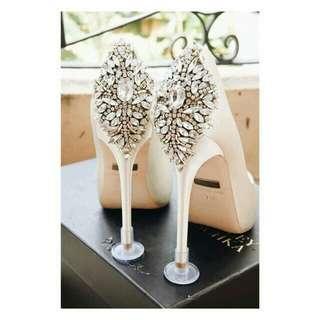 Badgley Mischka Wedding Shoes 37