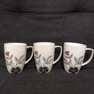 Corelle Coordinates mugs