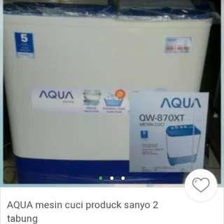 Mesin cuci 2 tabung bisa di kredit area petukangan