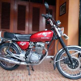Honda CB 100 Th. 1976