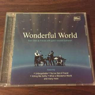 Audiophile Wonderful world Bubi & friends with guest vocalist syaharani cd