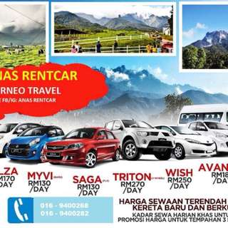 sabah touring and rental car service