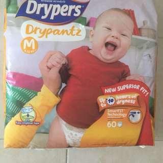 Drypers Pantz Size M
