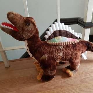 Dinosaur stuffed toy