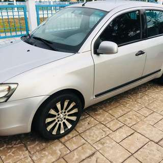 Proton Saga BLM for Rent