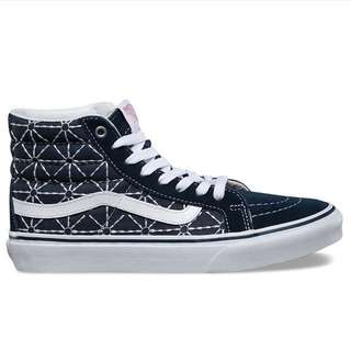 Original Limited Edition Vans Sk8 Hi Slim Quilted