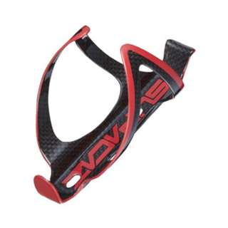 Supacaz Carbon Fly Cage - Black/Red