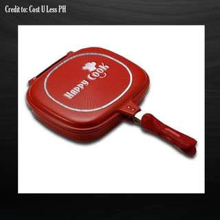 Happy Cook™ 32cm Double Sided Aluminum Pan