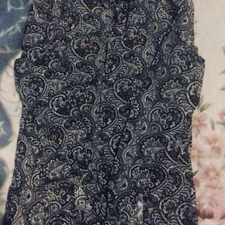 H&M Paisley Long Sleeve
