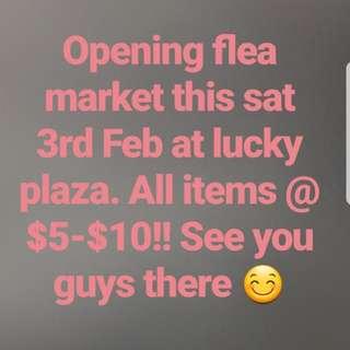 Flea market @ lucky plaza