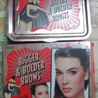 benefit bigger &bolder brows
