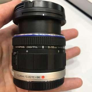 Olympus 9-18mm F4-5.6 Lens