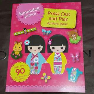 Kimmidoll Junior Press Out And Play Activity Book