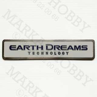 Emblem Honda Earth Dreams