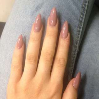 Almond Stiletto Fake Nails (Tips) 100 PCS