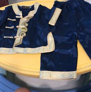 CNY costume for boy 80