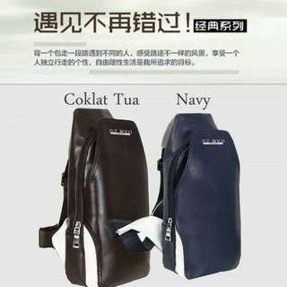 Bodypack-Slibg Bag Pria Import