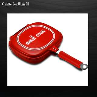 Magic Cook™ 32cm Double Sided Aluminum Pan