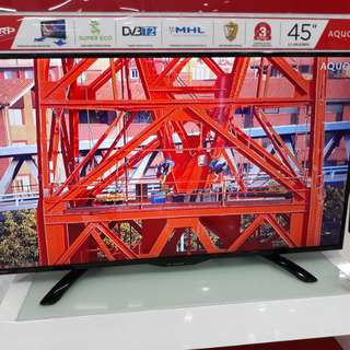LED Sharp Digital TV 45 in